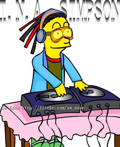 รูป The Simpson ล้อ I.N.A.
