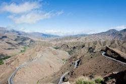 Montanhas do Alto Atlas e do Col de Tichka