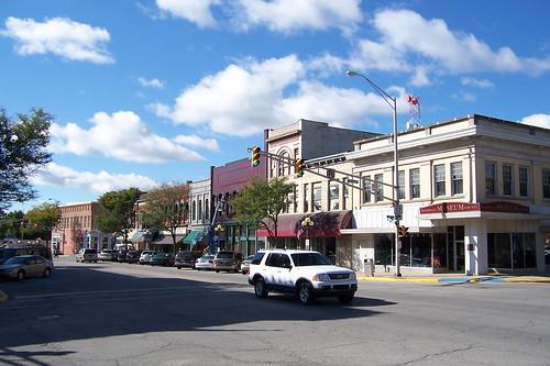 Southbound at Garro St.