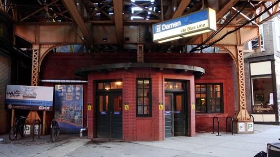 Damen Blue Line Station