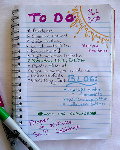 To-Do List 2008.08.30