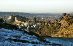 Edinburgh from the crags