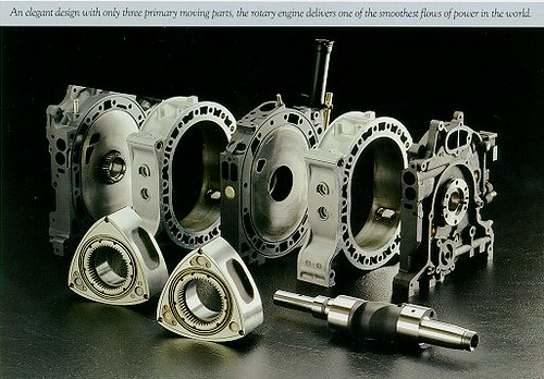 Wankel Rotary Engine Mazda Renesis