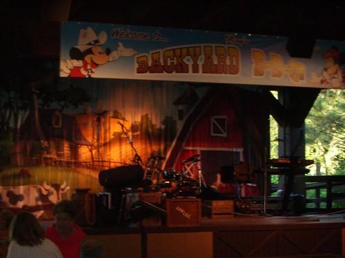 Mickey's Backyard BBQ at Fort Wilderness