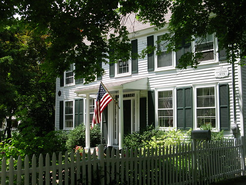 5 South Village Green, the Aaron Smith house (1776)