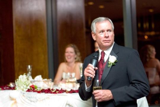My dad's speech