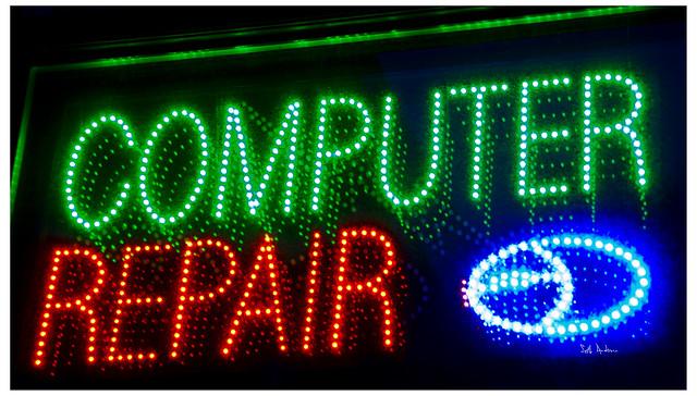 Computer Repair LED