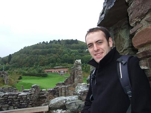 Dave at Urquhart Castle