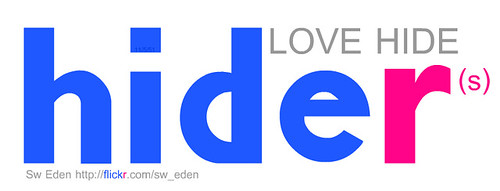 ออกแบบ Logo เลียน Flickr เพื่อกลุ่ม Flickr