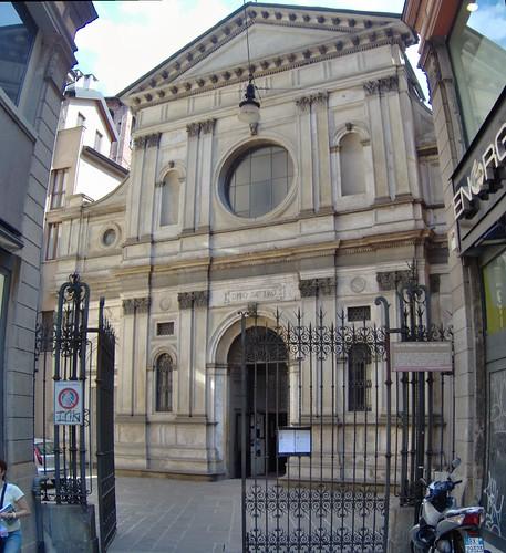 Santa Maria presso San Satiro, Milano.