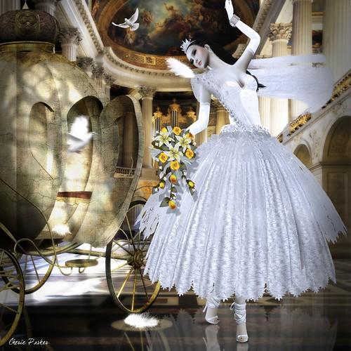 Caoimhe Lionheart AD Royal Wedding ala Cendrillon ou La petite Pantoufle de Verre