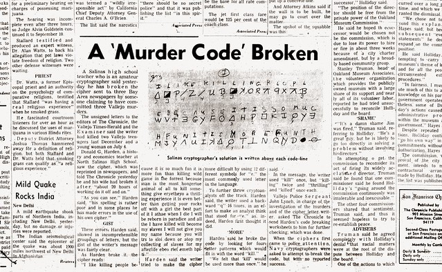 As covered in a previous article 'born on august 3rd,' it was argued that the killer had no identity or pseudonym to reveal to us before august 3rd 1969, because he hadn't yet assigned one to himself. The Zodiac Killer's Code is Cracked (August 9, 1969 ...