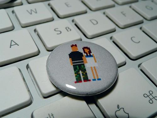 Pixel couple button