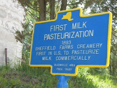 1st Milk Pasteurization Historic Marker