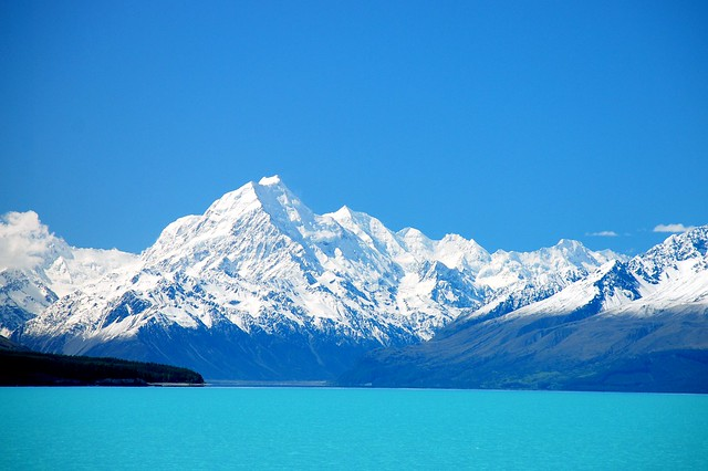 Mt Cook, from Lake Pukaki