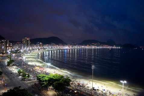 Copacabana at December 31st