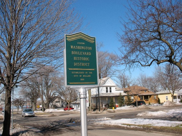 Washington Boulevard Historic District