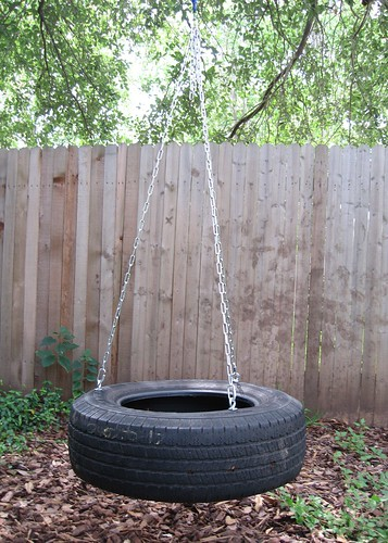 DIY Outside - Make a Tire Swing!