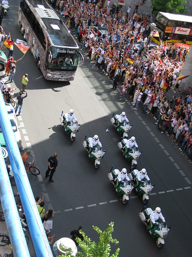 German National Football Team Bus