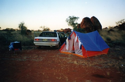 Camping at The Pebbles