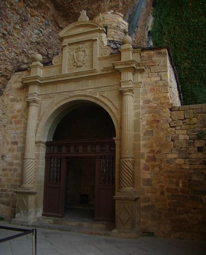 Capilla de los santos Voto y Felix Monasterio de San Juan de la Peña Huesca 73