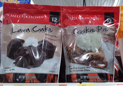 Hell's Kitchen Lava Cake and Cookie Pie Dessert Mix