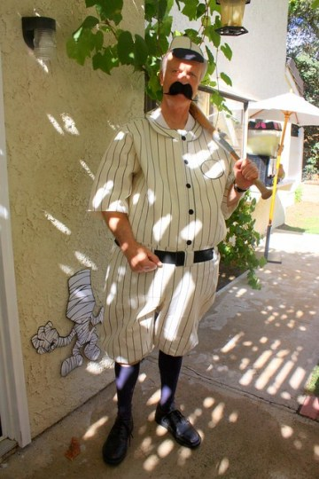 Grandpa/ Baseball Player