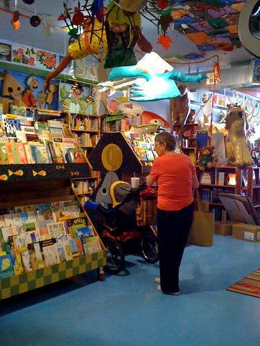 At the Reading Reptile with Grandma Karen