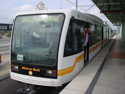 Metro Green Line at Rosa Parks