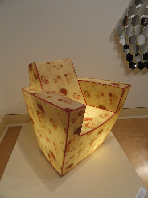 Critz Campbell's Eudora Chair at Mississippi Museum of Art
