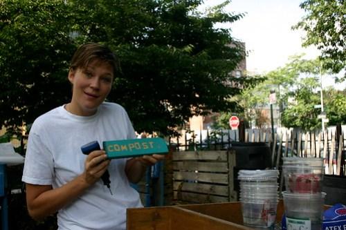 Wanna Compost in Williamsburg?