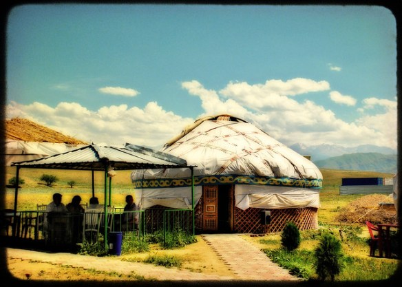 biggest baddest bucket list, Kazakhstan yurt
