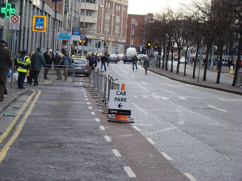 Cycle lane is