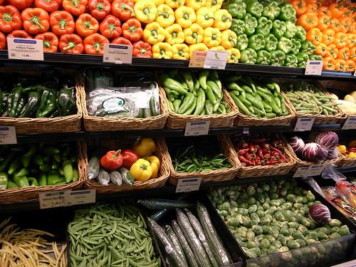 Vegetables in Whole Foods Market by Masahiro Ihara
