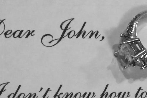 ART  dear john letter