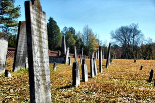 Old Headstones at Cedar Springs