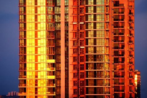 Toronto Condo Sunset