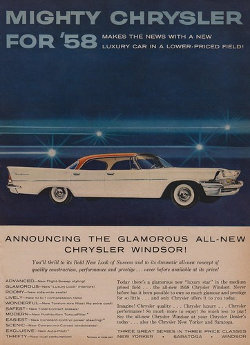 Mighty Chrysler for '58