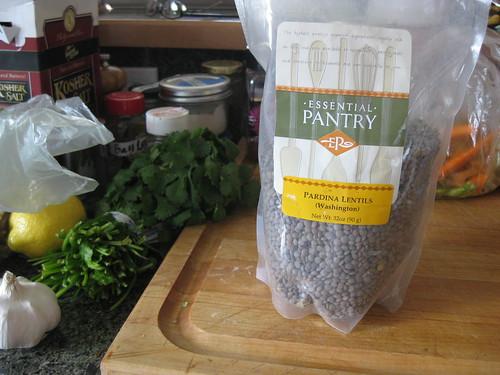 Local Lentils for Lesa's Stew