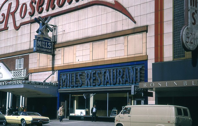 Mills Restaurant Euclid Ave Cleve OH Nov 71