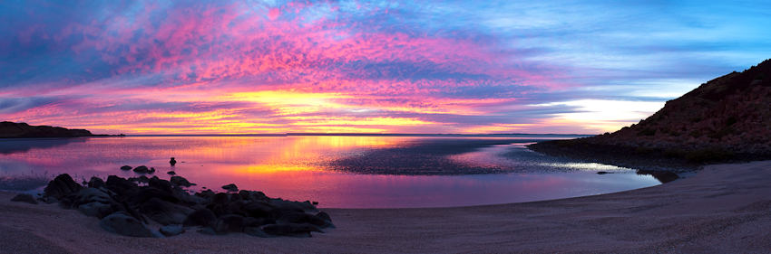 Sonnenaufgang bei Dampier