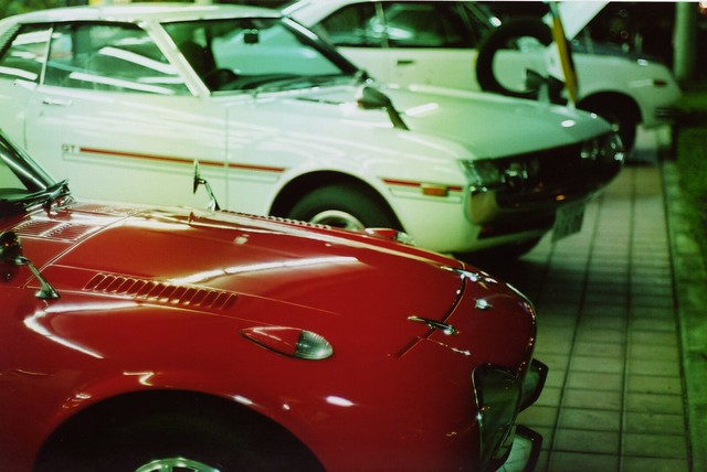 Toyota Sport 800 & Celica