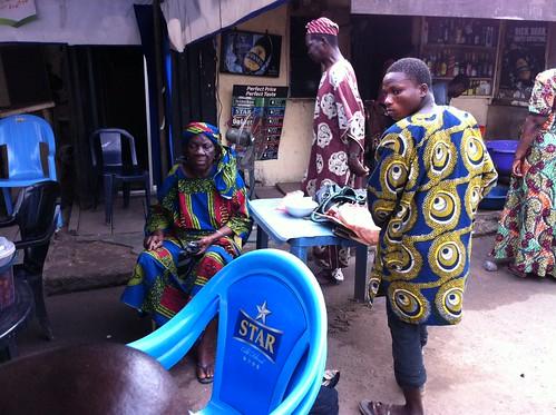 Agbani Bar & Restaurant Ogba Lagos Nigeria. by Jujufilms