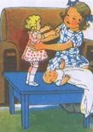 Criança com Bonecas by lusografias