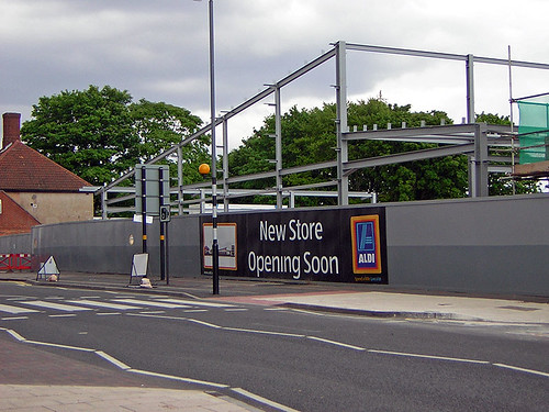 Northfield Aldi construction