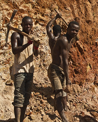 Illegal gold miners2, Ghana
