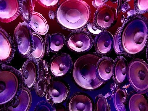 Speaker Matrix Original Photo by Jurvetson  (Flickr)
