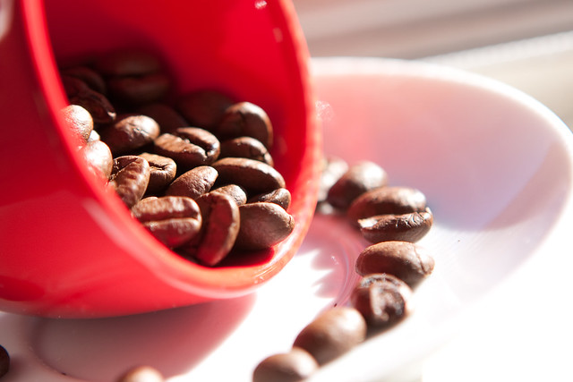 Coffee, Cup and Beans