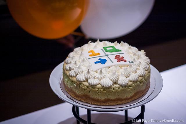 OLPC Cake on Stand