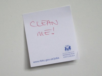 CLEAN ME! from Flickr via Wylio
